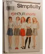 Simplicity 96861996 2 Hour Shorts Misses Set of Shorts with or without P... - $7.42