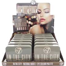 (6 Pack) W7 In The City Natural Nudes Eye Colour Palette - $34.98
