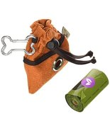 Jax and Bones Business Buddy Poop Bags Dispenser with 15 Earth Rated Poo... - $12.73