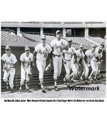 MLB St. Louis Cardinals Starting Line Up Brock Gibson McCarver 8 X 10 Photo Pic - $5.99