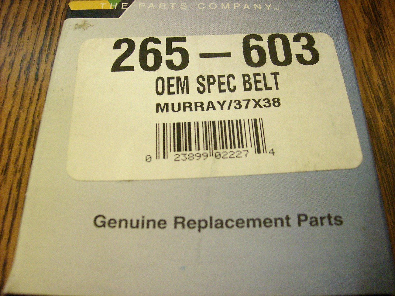 Drive Belt for Murray and Craftsman 037X38MA, 37X38, 37X38MA, rear engine rider