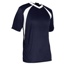 Champro Youth Sweeper Soccer Jersey Navy White Small - $23.58