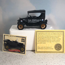 NATIONAL MOTOR MUSEUM MINT diecast model T car 1924 Ford ten millionth t... - $39.55