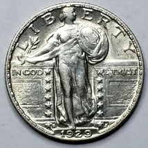 1929S Standing Liberty Silver Quarter Coin Lot 519-81