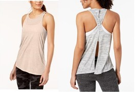 Calvin Klein Performance Crossover-Back Asymmetrical Tank Top, MSRP $28 - $14.24