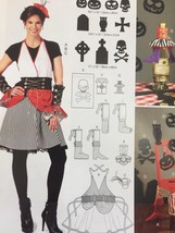 McCalls Sewing Pattern 7005 Apron Gauntlets Hat Silhouettes Banner Size O/S New - $18.80