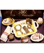 DOLLHOUSE Make Up Set Cosmetic Reutter 1.465/8 ... - $38.90