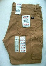 DICKIES Duck Carpenter Flex Work Pants Relaxed Fit Tool Pockets 40 X 30 NEW - $39.59
