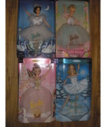 Barbie dolls Nutcracker series, 4 new in boxes. - $115.00