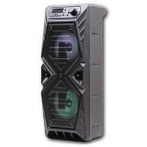 SYLVANIA SP417 20-Watt Rechargeable Disco Light-up Bluetooth Speaker wit... - $52.26