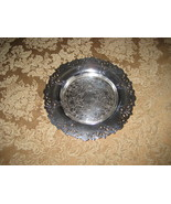 Vintage Silver-plate circular dish, Wm A Rogers... - $13.01