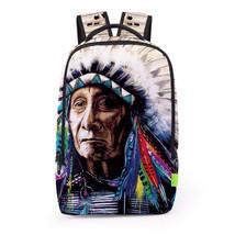 Creative personality 3d digital print school travel backpack - $26.00