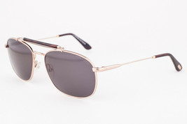 Tom Ford Marlon Gold / Brown Sunglasses TF339 28N - $165.62