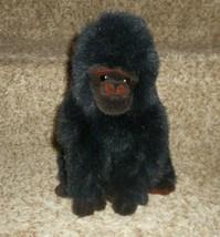 Ty Vintage 1995 Clásico Bebé George el Gorila Negro Peluche Plush Toy - $21.88