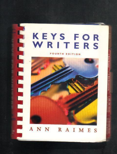 Keys for Writers, Fourth Edition, Ann Raimes  2005 Siral Bou