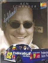 2005 KEN SCHRADER #52 FEDERATED CRAFTSMAN TRUCK SERIES POSTCARD SIGNED - $11.75