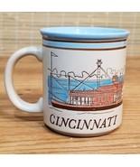 Cincinatti City Blue Skyline Coffee Cup - $4.89