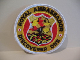 Royal Ambassador Discoverer One Souvenir Patch Crest Emblem  - $5.99