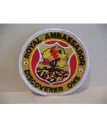 Royal Ambassador Discoverer One Souvenir Patch Crest Emblem  - $5.99