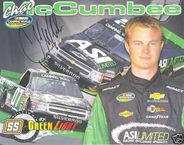 2009 CHAD MCCUMBEE #07 ASI LIMITED CWTS NASCAR POSTCARD SIGNED - $10.75