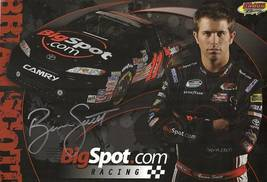 2010 BRIAN SCOTT #11 BigSpot.com NASCAR POSTCARD SIGNED - $10.95