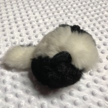 "swiboo Plush Skunk black white 6"" Tall Cute - $6.57"