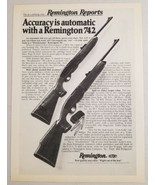 1977 Print Ad Remington 742 Hunting Rifles Bridgeport,CT - $11.56