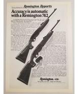 1977 Print Ad Remington 742 Hunting Rifles Bridgeport,CT - $11.56