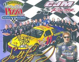 2008 SCOTT LAGASSE #11 INCREDIBLE PIZZA POSTCARD SIGNED - $10.75