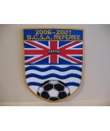 B.C.S.A. Referee Soccer Souvenir Patch Crest Emblem  - $6.99