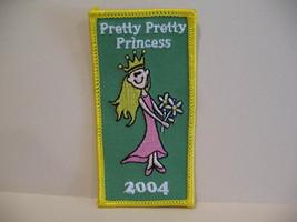 Pretty Pretty Princess 2004 Souvenir Patch Crest Emblem  - $4.99