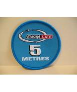 Swim Life 5 Metres Souvenir Patch Crest Emblem  - $6.99
