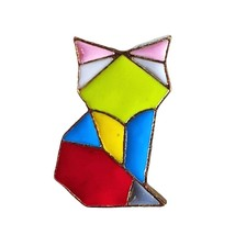 Animal Lapel Pin: Origami Fox (2) - $5.90