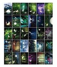 30pcs Luminous Beautiful Greeting Postcards - Forest - $13.07