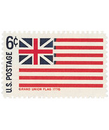 1968 Grand Union Scott 1352 $0.99 for (2) stamps - €0,87 EUR