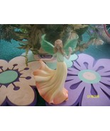 Peach Blossom Angel Figurine - $15.95