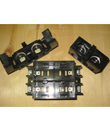 AEC 15/30 AMP MAX. 2 POLE TWIN PLUG-IN FUSE HOLDERS + FUSE BLOCK SET ~ R... - $119.99