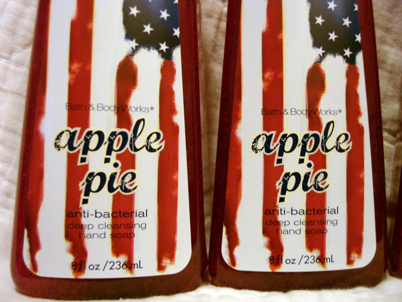 Bath And Body Works Apple Pie Antibacterial Hand Soap X 4