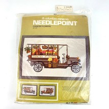 Country Flowers 1976 Needlepoint Kit Columbia Minerva 2439 18 x 12 Inch - $19.79
