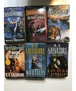 R.A. Salvatore Paperback softback lot of 6 books Witchs daughter demon s... - $14.01