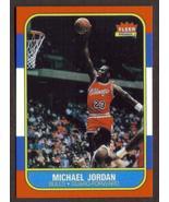 MICHAEL JORDAN Rookie Card RP #57 Bulls RC 1986 F Free Shipping - $2.95