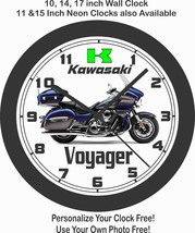 2019 KAWASAKI VULCAN 1700 VOYAGER WALL CLOCK-HARLEY DAVIDSON, BMW, TRIUMPH - £22.24 GBP+