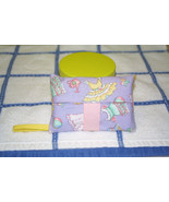 Unique Pocket Tissue Holder Daisy Kingdom Paper Dolls Fabric  NEW ONE OF... - $8.50