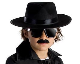 Dress Up America Halloween Costume Accessory Spy Agent Hat - $24.78