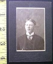 Cabinet Card Handsome Young Man Colorado! c.1890`s - $4.00
