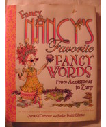 Fancy Nancy's favorite fancy words book,new - $6.00
