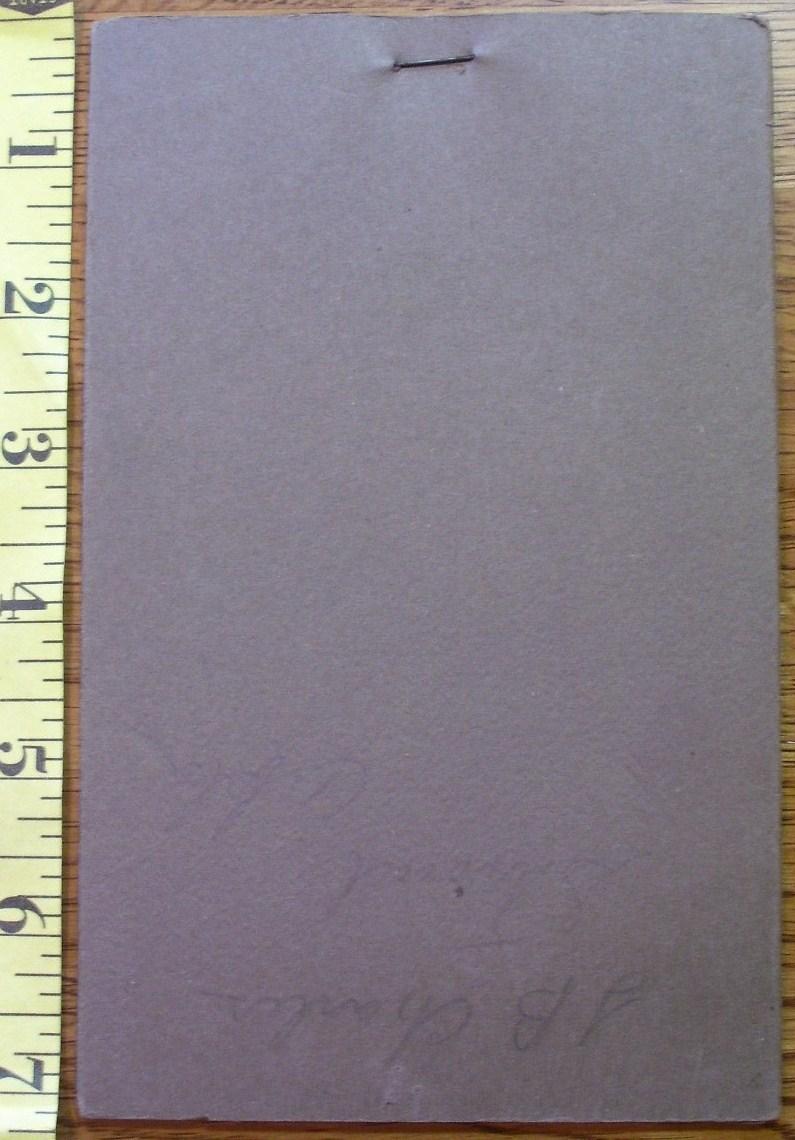 Cabinet Card J.B.Charles Stroud Co. Folding Frame! c.1900!