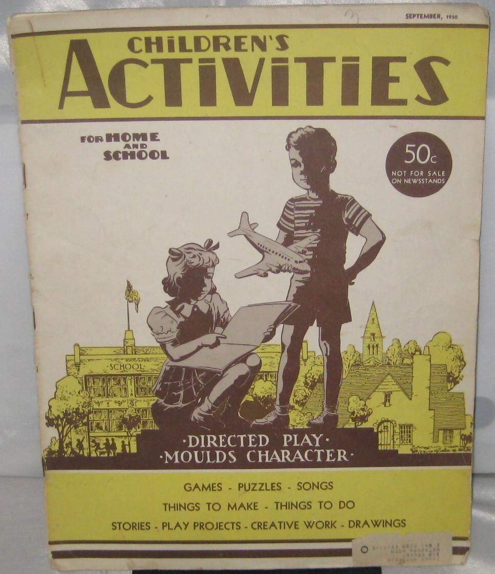 1950 september childrens activity magazine