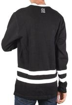 40 OZ Forty Ounce NYC Men's Black Dishonor Flatback Sweater Sweatshirt NWT image 3