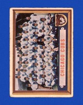 CHICAGO CUBS 1957 Topps #183 (VG) Chicago Cubs Vintage Baseball Sports C... - $4.49